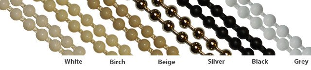roller blind chains